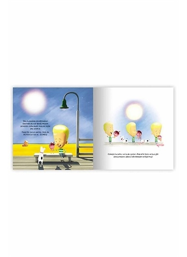 Panel Kırtasiye Güneşi Söndüren Çocuk Eolo Yayınları Renkli